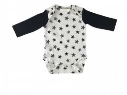 Black stars bodysuit