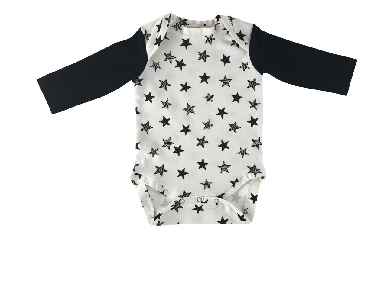 Black stars bodysuit