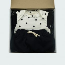 polka dot baby newborn box