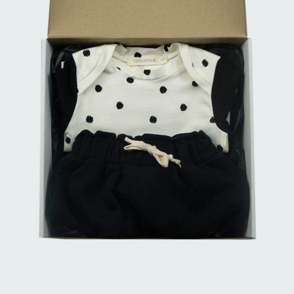 polka dot baby newborn box