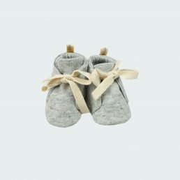 grey melange shoes