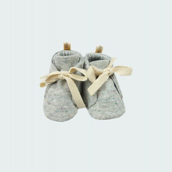 grey melange shoes