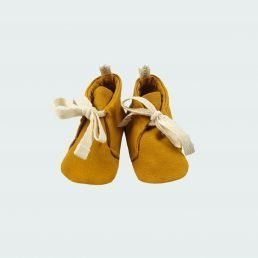 golden yellow shoes
