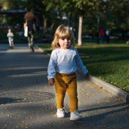 golden yellow pocket pants