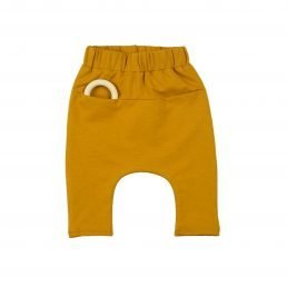 golden yellow pocket pants