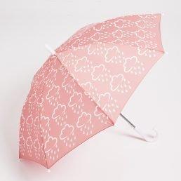 pink coral umbrella