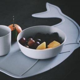 Blue sky whale mat By Lille Vilde