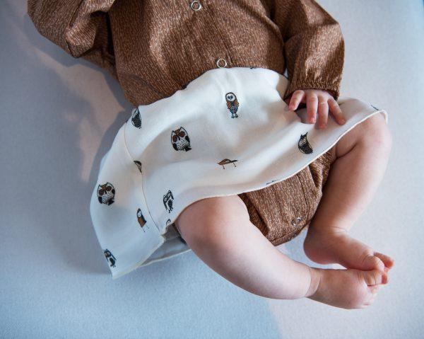 Baby owl skirt