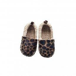 gold leopard espadrilles