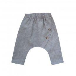 grey mediterranean pants
