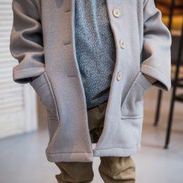 lilac spring coat