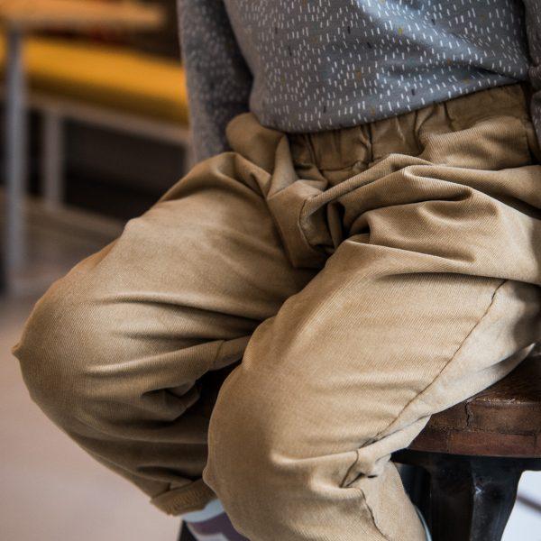 curry velvet pants