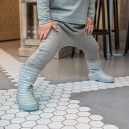 Striped big butt pants