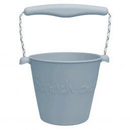 Blue silicone bucket