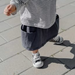 Muslin pocket skirt