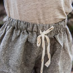 Linen skirt shorts