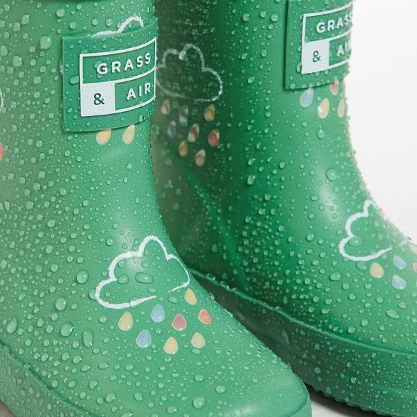 green wellies